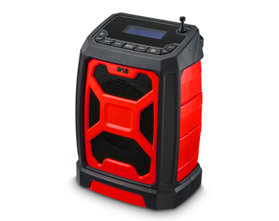 Portable Multifunctional Heavy Duty Jobsite/Worksite DAB FM Radio Waterproof/Shockproof with Charging